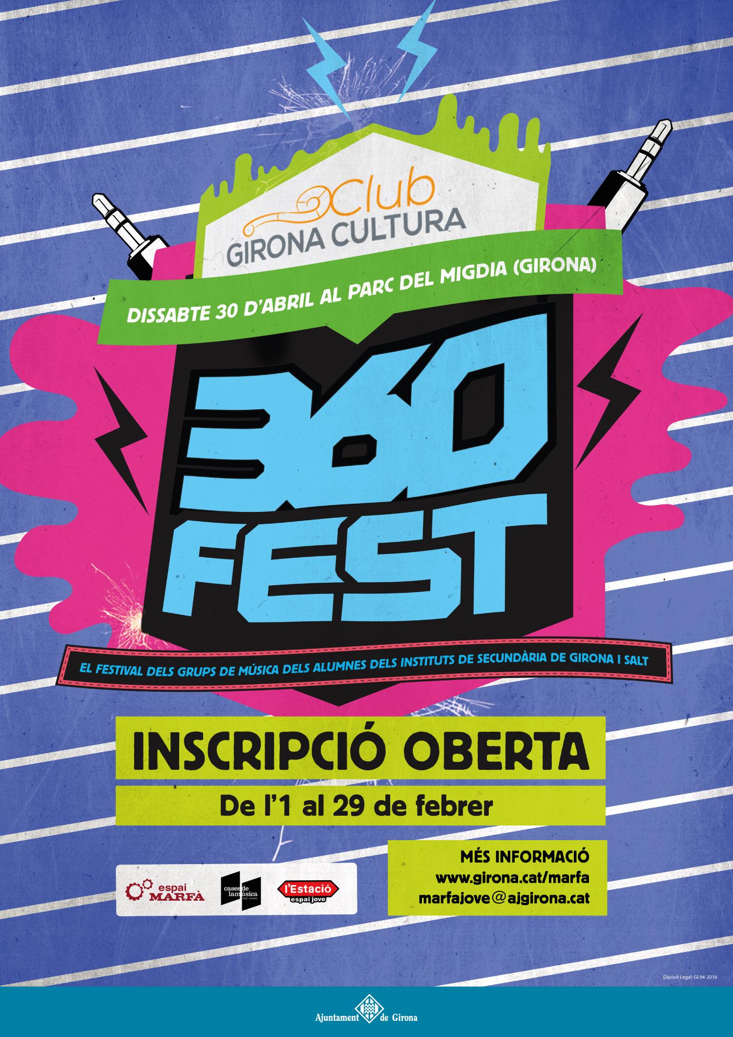 Vols actuar al 360Fest?