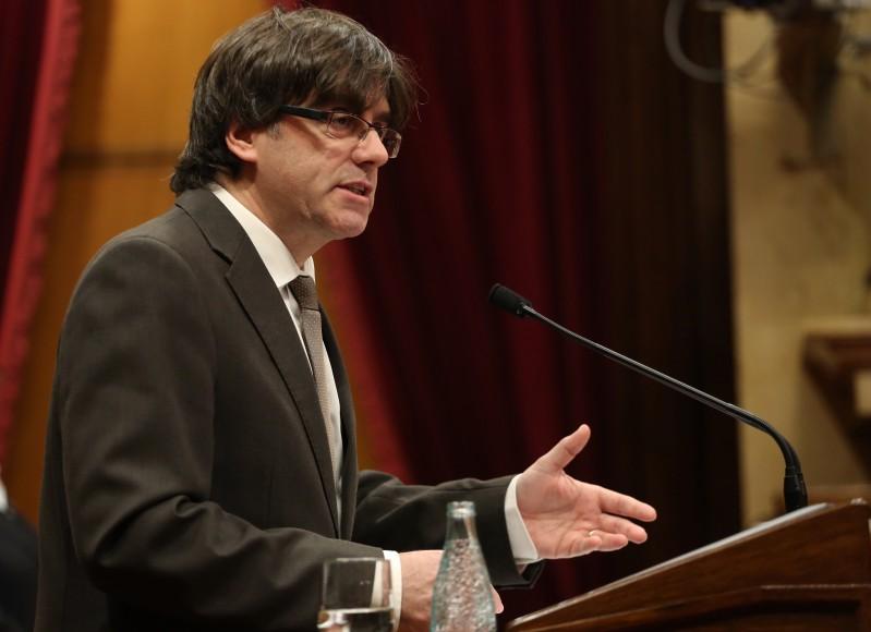 """President Puigdemont: """"El que dóna sentit a l'acció d'aquest Govern és servir millor les persones"""""""