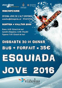 Esquiada Jove Alt Empordà Valter 2000