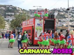 Llistat de colles Carnaval de Roses 2016.