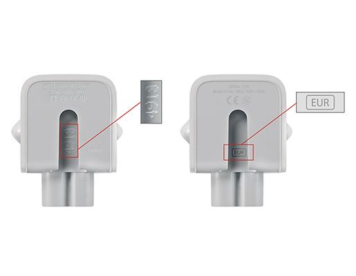 Apple fa retirar adaptadors de corrent per risc de descarregues electriques