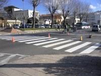 L'Ajuntament incorpora dos nous passos de vianants a l'avinguda de Rhode que milloren l'accessibilitat