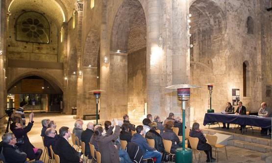 El monestir de Sant Pere de Galligants acull la presentació del llibre Santa Maria de Ripoll en el segle XIX