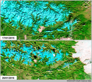 Poca neu al Pirineu