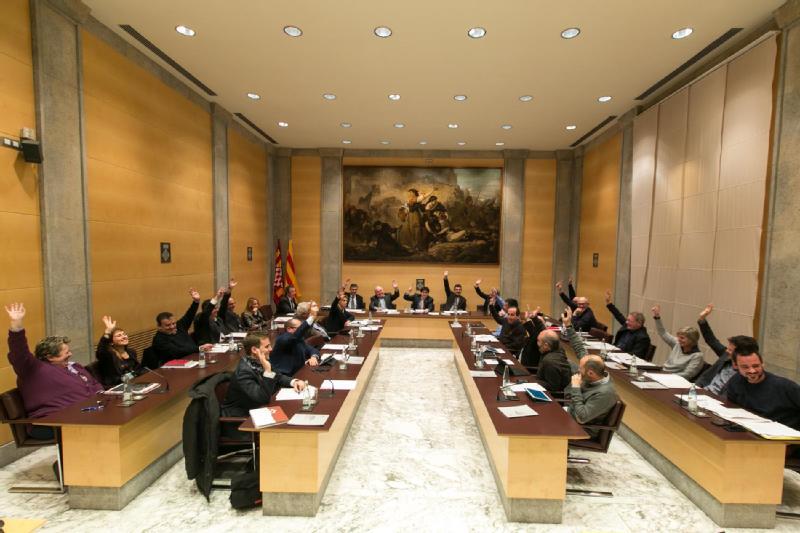 La Diputació de Girona aprova ajudes per a la divulgació de la cultura i el foment de l'habitatge