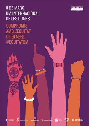 """L'Institut Català de les Dones endega la campanya """"Compromís amb l'equitat de gènere. #Equitat8m"""""""