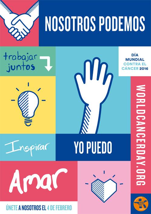 Dia Mundial Contra el Càncer, Junts podem