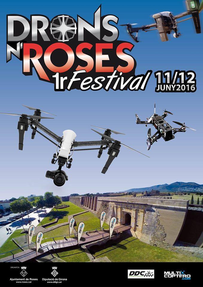 Roses acollirà el primer festival de Drons amb més de 3.500 € en premis