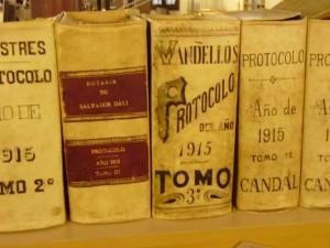 L'Arxiu Comarcal ingressa 13 protocols notarials històrics de l'any 1915