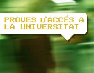 Els alumnes de 2n de batxillerat tenen fins el 29 de febrer per prematricular-se a les proves d'accés a la universitat (PAU)