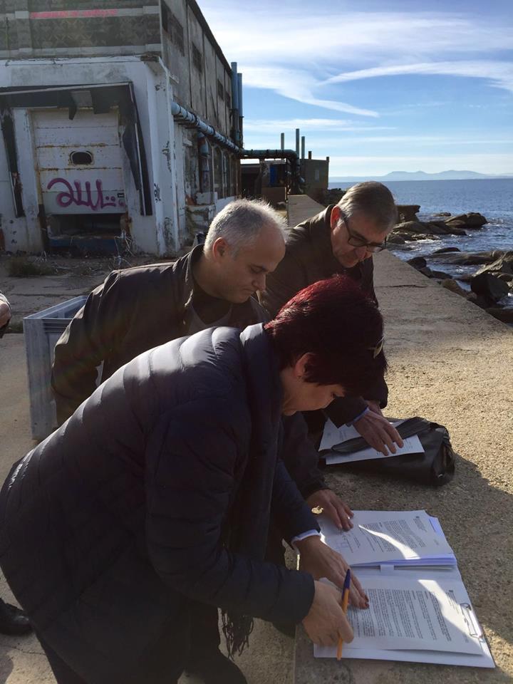 El Ministeri de Medi Ambient es disposa a enderrocar l'antiga depuradora de marisc de Roses