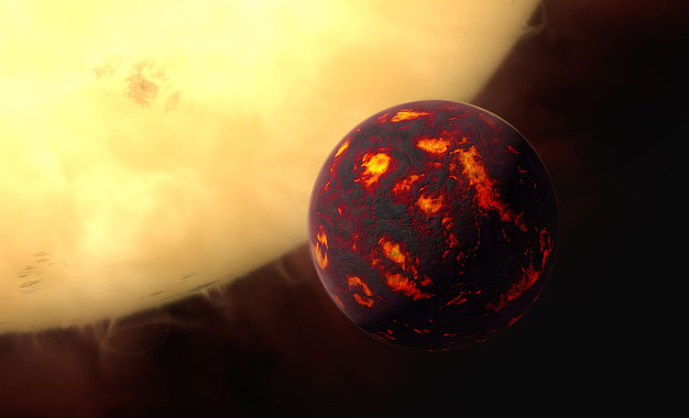 Primera detecció de la inhòspita atmosfera d'una super terra