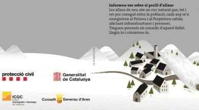 S'han distribuït fulletons en català i aranès