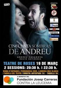 Teatre a Roses, cincuenta sombras de Andreu