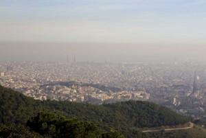 Contaminació a Barcelona