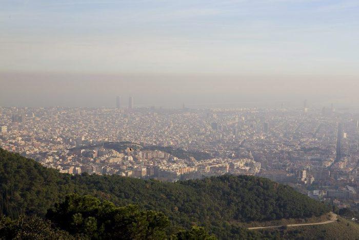 Activat el protocol per contaminació atmosfèrica a l'àrea de Barcelona