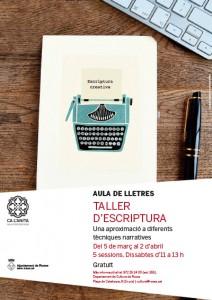 TALLER D'ESCRIPTURA A ROSES