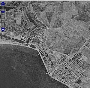 En el mapa interactiu es pot veure l'evolució de Roses des del 1946 fins a l'actualitat