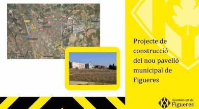 Figueres disposarà d'un nou pavelló poliesportiu a la zona sud abans del 2019