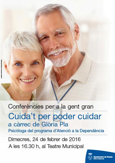 El cicle de xerrades per a gent gran inicia la segona edició