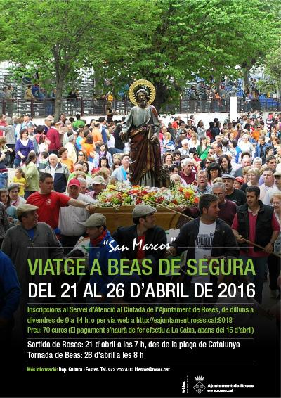 """Viatge a Beas de Segura """" San Marcos """""""