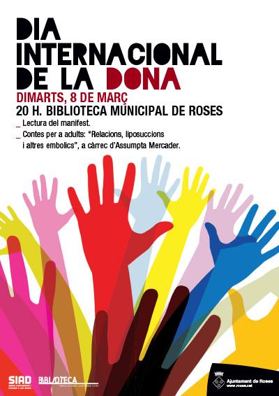 Dia Internacional de la Dona a Roses