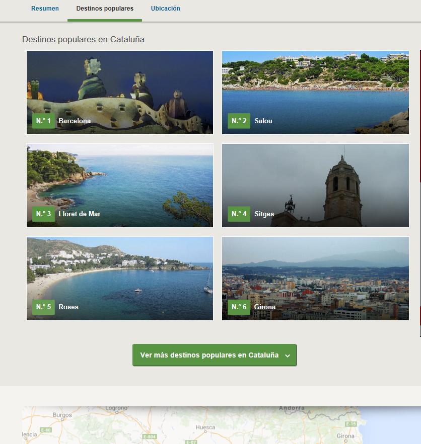 Roses és la cinquena destinació turística de Catalunya més popular entre els usuaris de TripAdvisor