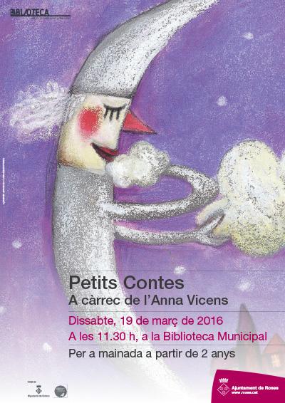 PETITS CONTES, A CÀRREC D'ANNA VICENS