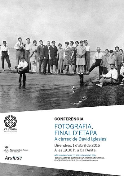 Conferència Fotografia Final d'etapa