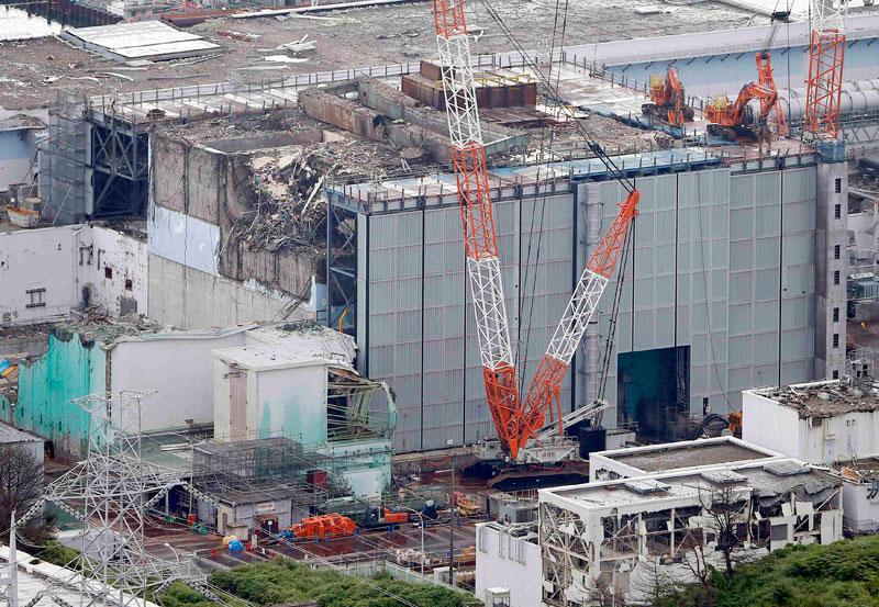 Un incendi en un dipòsit de residus radioactius a Fukushima accentua la crisi nuclear