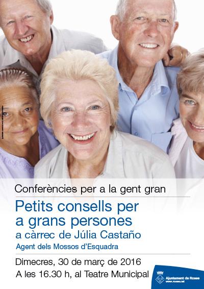 Conferències per a gent gran