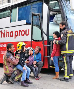 Aquest diumenge, donació de sang a Roses amb els bombers de la Generalitat