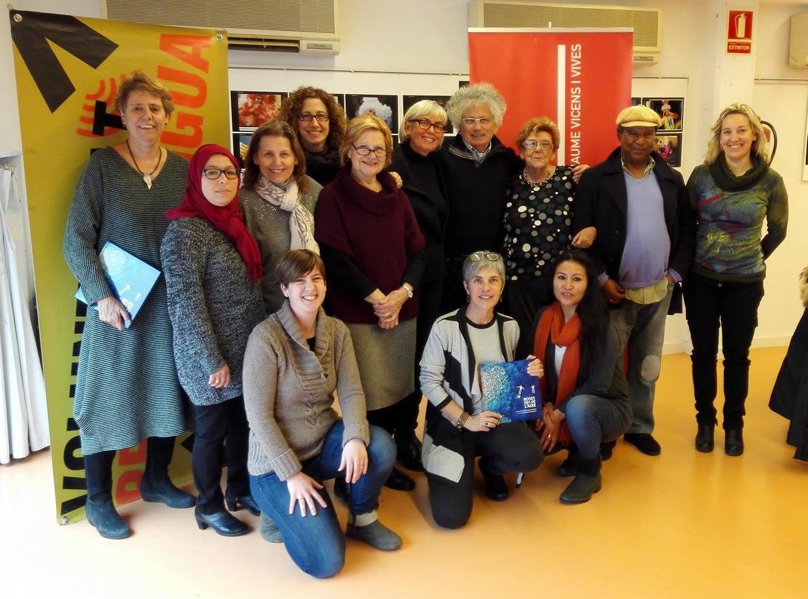 Darrera sessió del IV Taller de lectura i conversa en català de l'OC de Roses