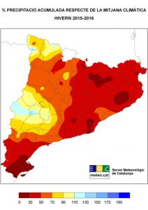 precipitacions a catalunya