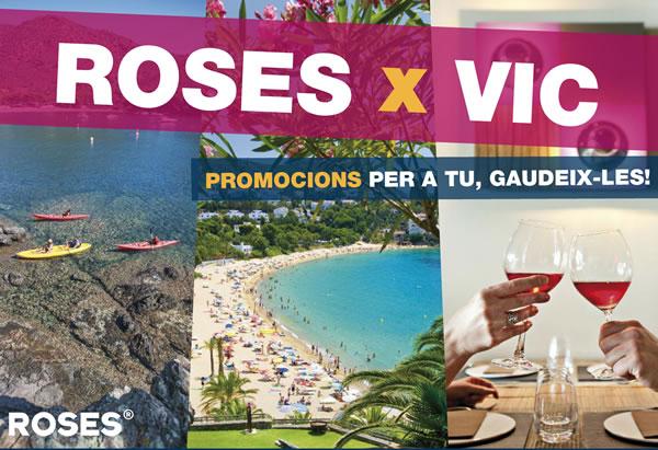 Roses es promociona a la Fira de Vic amb promocions especials