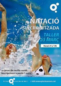taller natacion sincronizada