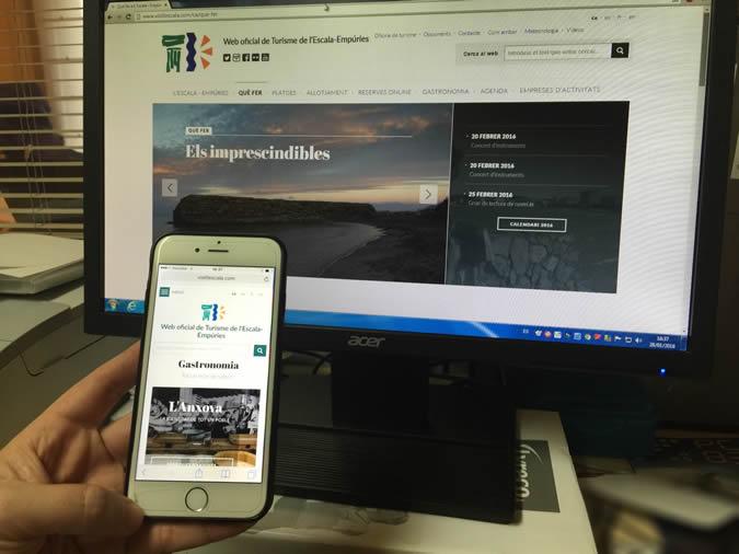 L'Escala estrena un nou portal turístic