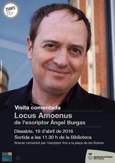 Visita comentada Locus Amoenus de l'escriptor Àngel Burgas