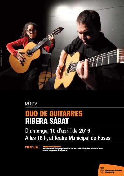 DUO DE GUITARRES RIBERA SÀBAT