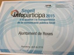web municipal de Roses