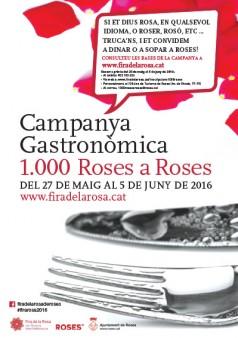 Campanya gastronòmica a Roses