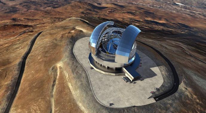 Signat el contracte per construir el telescopi més gran terrestre del món