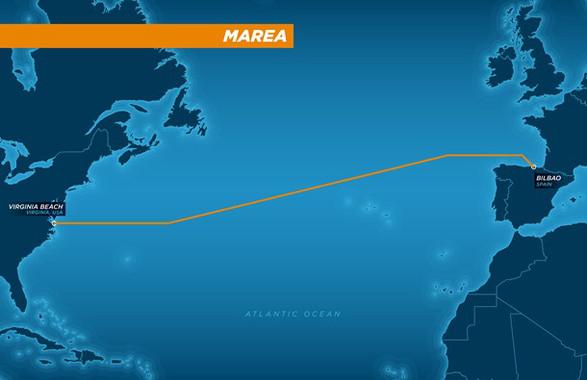 Un megacable de Microsoft i Facebook creuarà l'Atlàntic des d'EUA fins a Bilbao