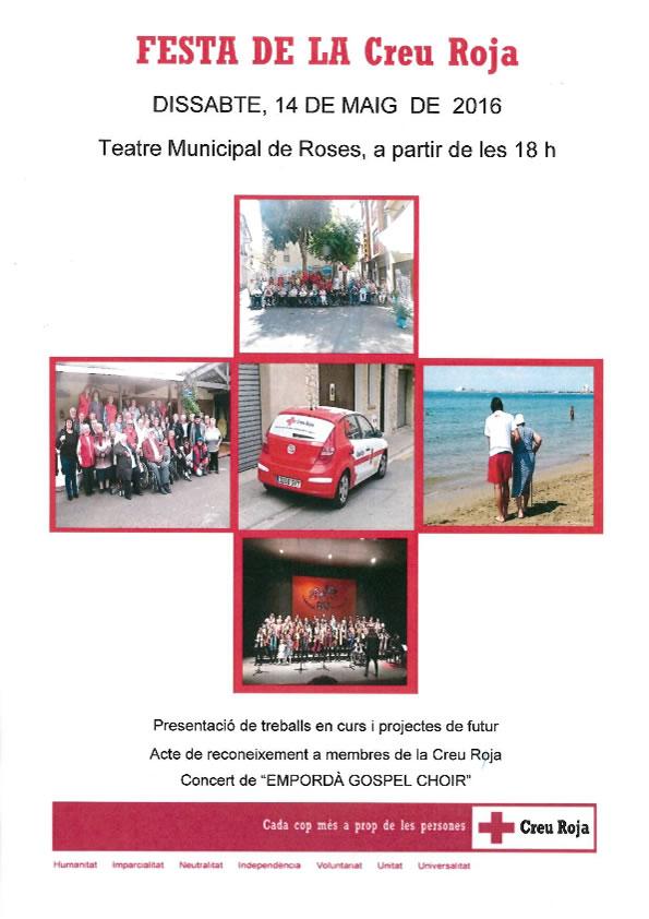 Roses celebrarà el Dia Mundial de la Creu Roja