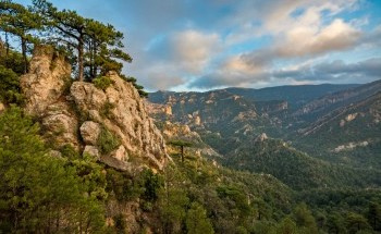 Horta de Sant Joan, Parc Natural dels Ports.