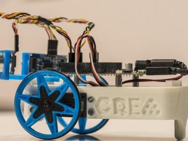 Kit de robòtica educativa. : CREA
