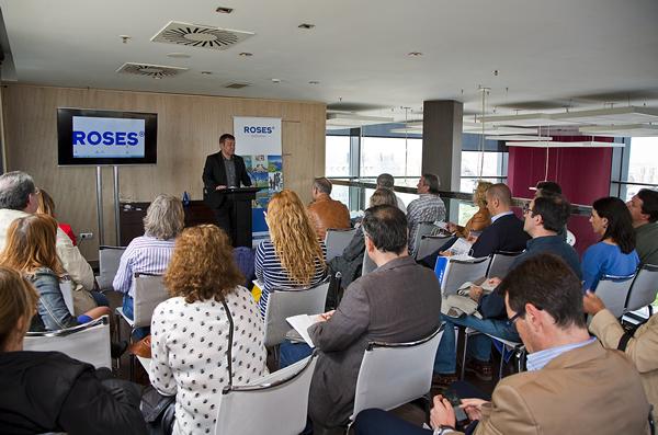 Roses es dóna a conèixer a la premsa especialitzada de Madrid, València, Saragossa i Bilbao