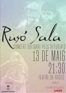 concert de Rusó Sala a Roses