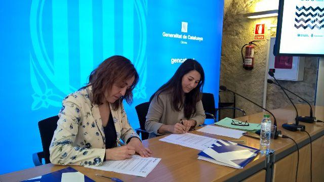El Servei Català de Trànsit i l'Ajuntament de Girona han signat avui el Conveni marc de col·laboració en seguretat viària