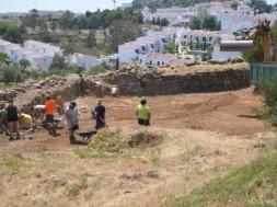 treballs arqueològics al Puig Rom